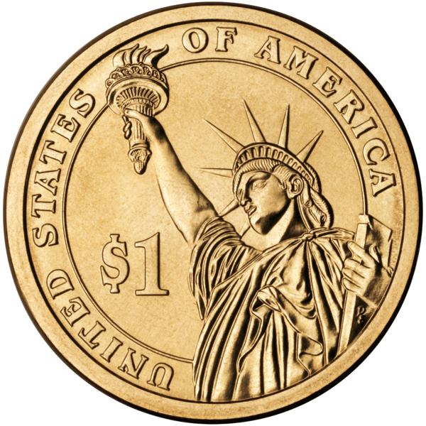$1 coins