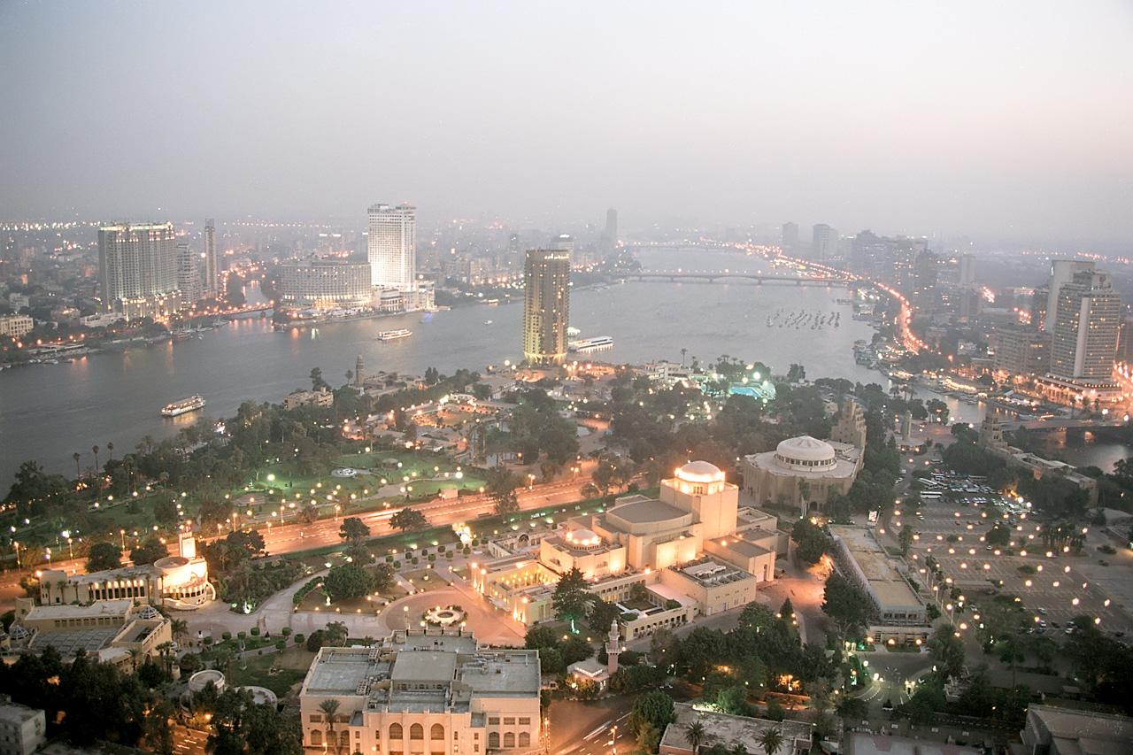 Modern Cairo, Egypt