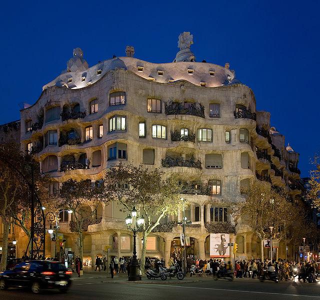 Casa Mila Barcelona.