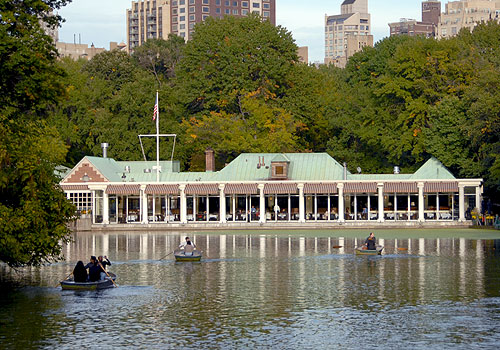 Central Park's Loeb Boathouse