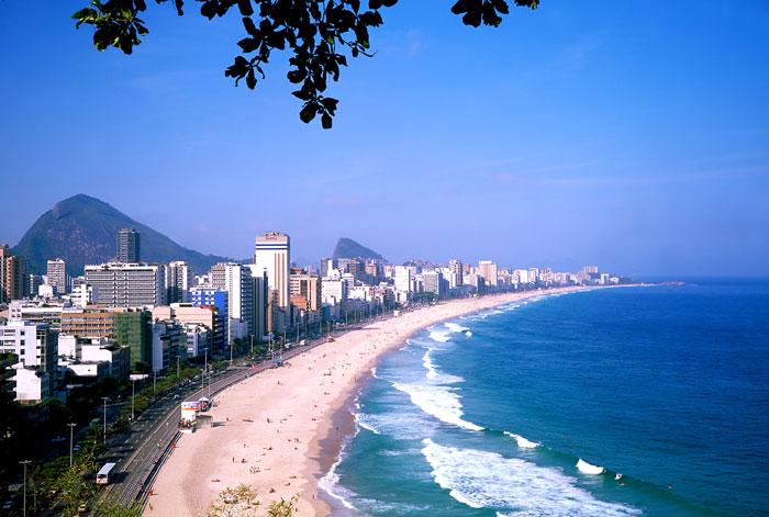 Ipanema Beach, Rio de Janeiro, IN Brazil