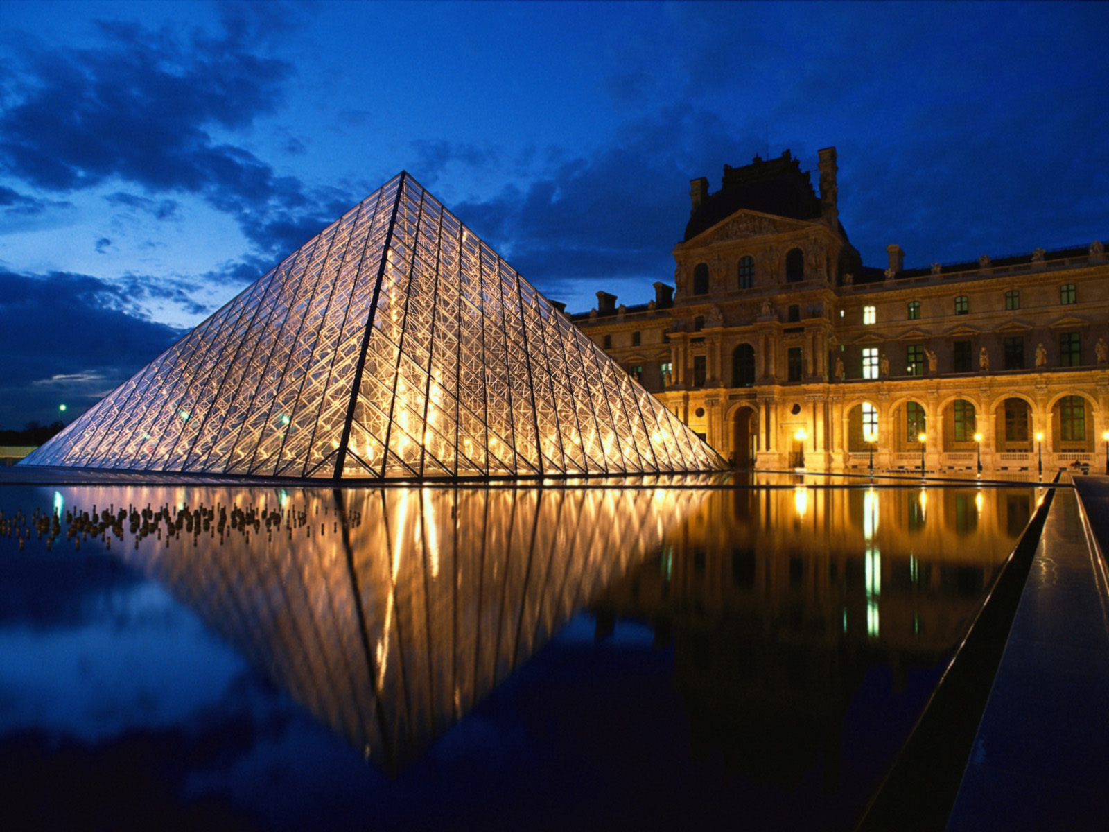 Louvre, Paris in France