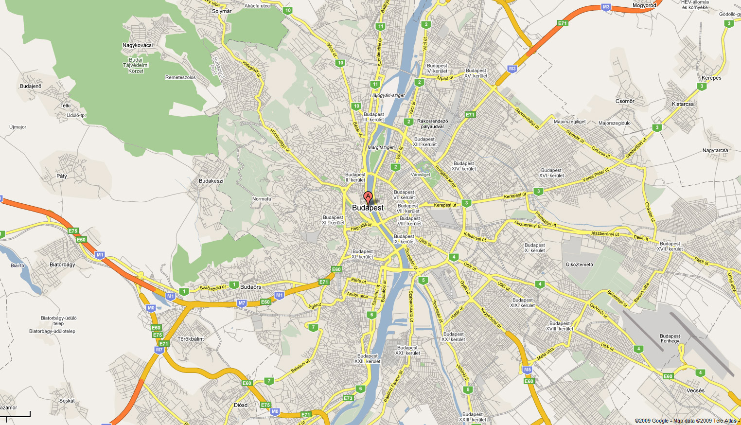 Map of Budapest Where is Budapest Budapest Travel Guide – Budapest Tourist Map