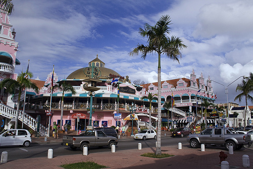 Downtown Oranjestad Pictures Photos And Images