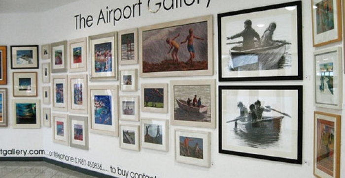 Airports With Art Galleries