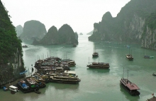 Ha Long Bay, Vietnam (A World Heritage Site)
