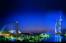 Atlantis & Burj Al Arab Hotels in Jumeirah Beach, Dubai