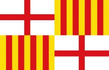 Flag of Barcelona City