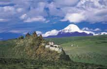 Trekking around Mount Kailas, Tibet.