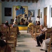 Casa de la Trova Santiago with Cuban People