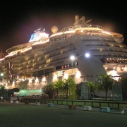 Cruise Ship in Germany