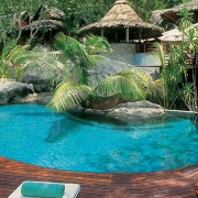 Luxury Beach Hotels, Seychelles.