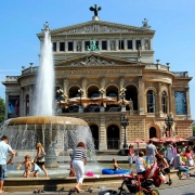 The Alte Oper (Old Opera) - Frankfurt, Germany.
