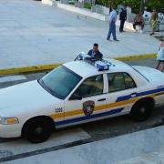 Police Car, Puerto Rico.