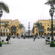 Square In Lima, Peru