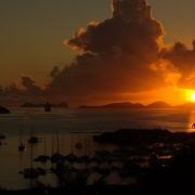 Sunset, Tortola , British Virgin Islands