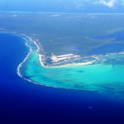 Aerial view, Grand Cayman Islands