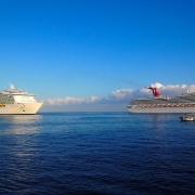 Cruise Ships, Cayman Islands.