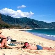 Noidea beach, Oahu Island.